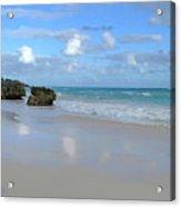 Along The Beach Acrylic Print