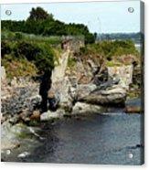 Along The Cliff Walk Trail Acrylic Print