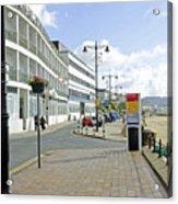 Along The Esplanade At Sandown Acrylic Print