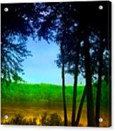 Along The Muddy River Acrylic Print