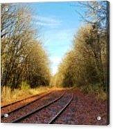 Along The Old Railroad  Acrylic Print