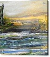Along The River Acrylic Print