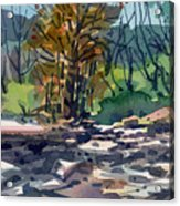 Along The Russian River Acrylic Print