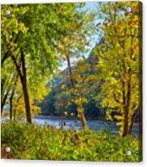 Along The Shenandoah River Acrylic Print