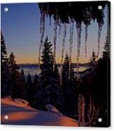 Alpenglow Claws Acrylic Print