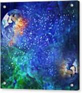 Alpha Centauri Abstract Moods Acrylic Print
