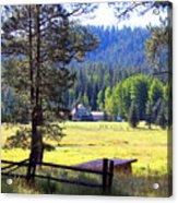 Alpine Arizona Acrylic Print