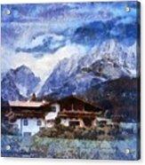 Alpine Bliss Acrylic Print