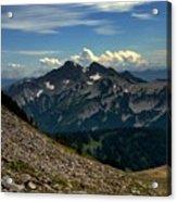Alpine Country Acrylic Print