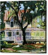 Alpine Grove Farmhouse Acrylic Print
