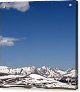 Alpine Tundra Series Acrylic Print