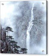 Alpine Waterfall Acrylic Print