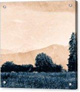 Alpine Western Acrylic Print