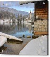 Alpine Winter Clarity Acrylic Print