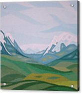 Alps 2 Acrylic Print