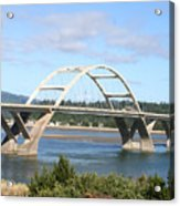 Alsea Bridge II Br-7005 Acrylic Print