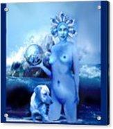 Alta, Roman Goddess Of Water Acrylic Print