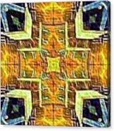 Altar Cross Tapestry Acrylic Print