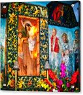 Altar Painted By Famous John Walach Acrylic Print