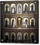 Altar Screen Cathedral Basilica Of St Francis Of Assisi Santa Fe Nm Acrylic Print