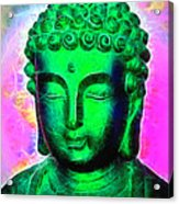 Altered Buddha Acrylic Print