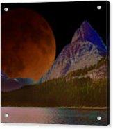 Alternate Universe Glacier Park Acrylic Print