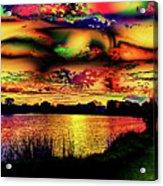 Alternative Cloud Design Acrylic Print