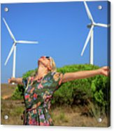 Alternative Energy Concept Acrylic Print