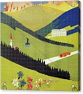 Alto Adige South Tyrol Acrylic Print