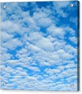 Alto-cumulus Acrylic Print