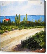 Alto Vista Chapel Acrylic Print by Shirley Braithwaite Hunt