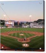 Altoona Curve Baseball Sunset Acrylic Print