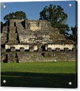 Altun Ha Mayan Temple Acrylic Print