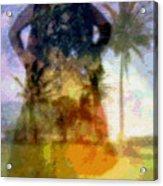Aluna Ahiahi Hula Acrylic Print