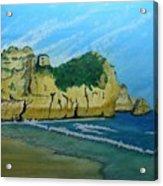 Alvor Praia's Acrylic Print