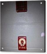 Always Call 911 In An Emergency Acrylic Print