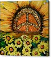 Always Face The Sun Acrylic Print