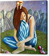 Am I My Religion My Beliefs Acrylic Print