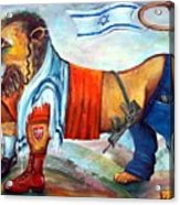 Am Israel Hay Acrylic Print