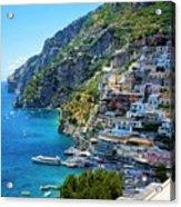 Amalfi Coast, Positano, Italy Acrylic Print
