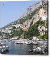 Amalfi Coast Italy Acrylic Print