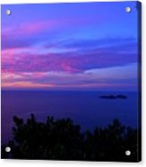 Amalfi Sunrise Acrylic Print