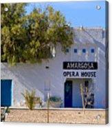 Amargosa Opera House Acrylic Print