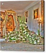 Amaryllis Exhibition In Beloeil Castle, Belgium Acrylic Print
