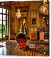 Amaryllis In The Castle, Belgium Acrylic Print