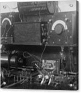 Amateur Wireless Station, Photograph Acrylic Print by Everett
