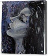Amaya Looks To The Stars Acrylic Print