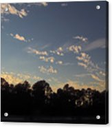 Amazing Clouds Before Sunset Acrylic Print