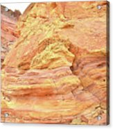 Amazing Color In Wash 3 - Valley Of Fire Acrylic Print