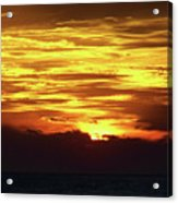 Amazing Fire In The Sky Acrylic Print